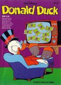 Cover Thumbnail for Donald Duck (Egmont Ehapa, 1974 series) #39