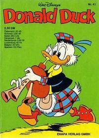 Cover Thumbnail for Donald Duck (Egmont Ehapa, 1974 series) #41