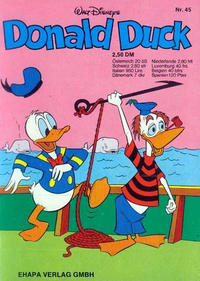 Cover Thumbnail for Donald Duck (Egmont Ehapa, 1974 series) #45