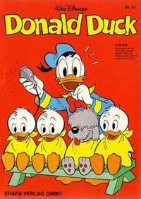 Cover Thumbnail for Donald Duck (Egmont Ehapa, 1974 series) #51