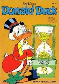 Cover Thumbnail for Donald Duck (Egmont Ehapa, 1974 series) #52