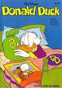 Cover Thumbnail for Donald Duck (Egmont Ehapa, 1974 series) #53