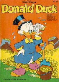 Cover Thumbnail for Donald Duck (Egmont Ehapa, 1974 series) #61