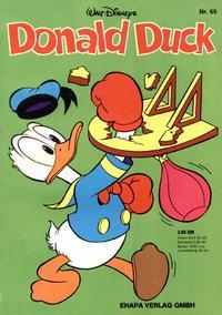 Cover Thumbnail for Donald Duck (Egmont Ehapa, 1974 series) #69
