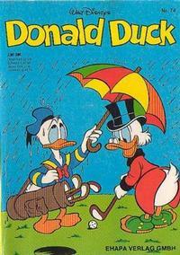 Cover Thumbnail for Donald Duck (Egmont Ehapa, 1974 series) #74