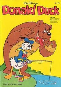 Cover Thumbnail for Donald Duck (Egmont Ehapa, 1974 series) #75