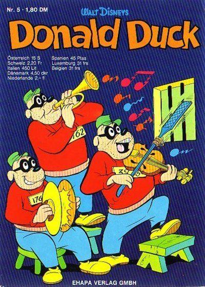 Cover for Donald Duck (Egmont Ehapa, 1974 series) #5