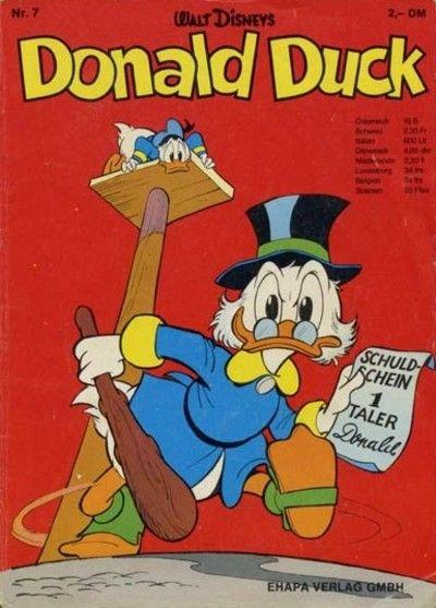 Cover for Donald Duck (Egmont Ehapa, 1974 series) #7