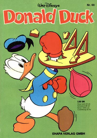 Cover for Donald Duck (Egmont Ehapa, 1974 series) #69