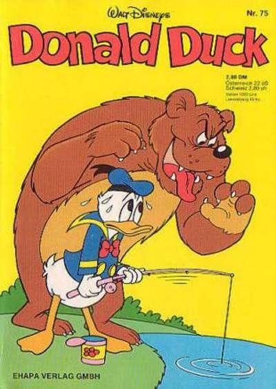 Cover for Donald Duck (Egmont Ehapa, 1974 series) #75