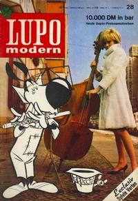 Cover Thumbnail for Lupo modern (Kauka Verlag, 1965 series) #v1#28