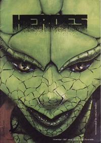 Cover Thumbnail for Heroes (Blackbird Comics, 1985 series) #4