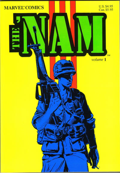 Cover for The 'Nam Trade Paperback (Marvel, 1987 series) #1