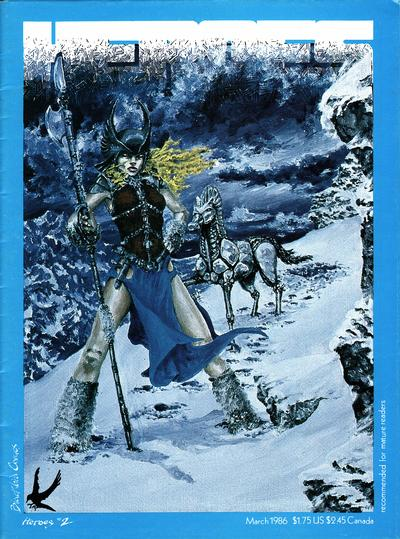 Cover for Heroes (Blackbird Comics, 1985 series) #2