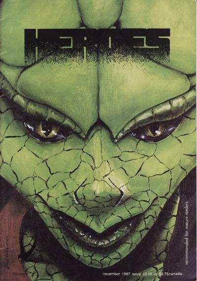 Cover for Heroes (Blackbird Comics, 1985 series) #4