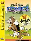 Cover for Barks Library (Egmont Ehapa, 1992 series) #21