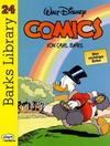 Cover for Barks Library (Egmont Ehapa, 1992 series) #24