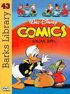Cover for Barks Library (Egmont Ehapa, 1992 series) #43