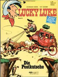 Cover Thumbnail for Lucky Luke (Egmont Ehapa, 1977 series) #15 - Die Postkutsche