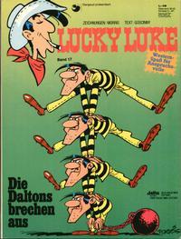 Cover Thumbnail for Lucky Luke (Egmont Ehapa, 1977 series) #17 - Die Daltons brechen aus