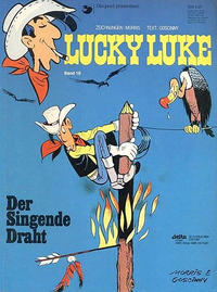 Cover Thumbnail for Lucky Luke (Egmont Ehapa, 1977 series) #18 - Der singende Draht