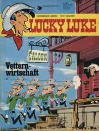 Cover Thumbnail for Lucky Luke (Egmont Ehapa, 1977 series) #21 - Vetternwirtschaft