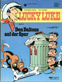 Cover Thumbnail for Lucky Luke (Egmont Ehapa, 1977 series) #23 - Den Daltons auf der Spur