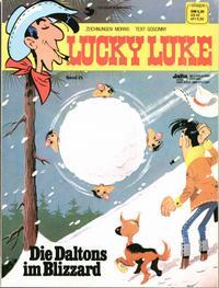 Cover Thumbnail for Lucky Luke (Egmont Ehapa, 1977 series) #25 - Die Daltons im Blizzard