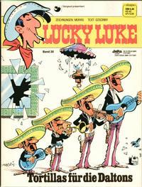 Cover Thumbnail for Lucky Luke (Egmont Ehapa, 1977 series) #28 - Tortillas für die Daltons
