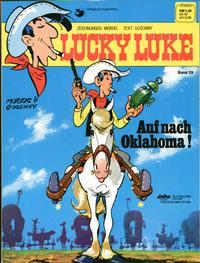 Cover Thumbnail for Lucky Luke (Egmont Ehapa, 1977 series) #29 - Auf nach Oklahoma !