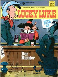 Cover Thumbnail for Lucky Luke (Egmont Ehapa, 1977 series) #31 - Der Richter