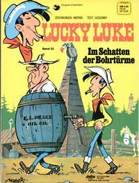 Cover Thumbnail for Lucky Luke (Egmont Ehapa, 1977 series) #32 - Im Schatten der Bohrtürme