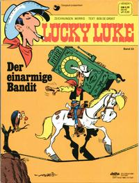 Cover Thumbnail for Lucky Luke (Egmont Ehapa, 1977 series) #33 - Der einarmige Bandit