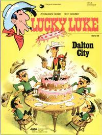 Cover Thumbnail for Lucky Luke (Egmont Ehapa, 1977 series) #36 - Dalton City