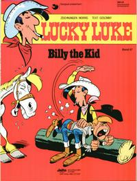 Cover Thumbnail for Lucky Luke (Egmont Ehapa, 1977 series) #37 - Billy the Kid
