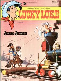 Cover Thumbnail for Lucky Luke (Egmont Ehapa, 1977 series) #38 - Jesse James