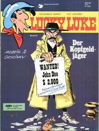 Cover Thumbnail for Lucky Luke (Egmont Ehapa, 1977 series) #43 - Der Kopfgeldjäger