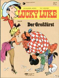 Cover Thumbnail for Lucky Luke (Egmont Ehapa, 1977 series) #46 - Der Großfürst