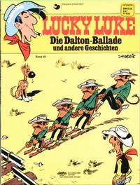 Cover Thumbnail for Lucky Luke (Egmont Ehapa, 1977 series) #49 - Die Dalton-Ballade und andere Geschichten