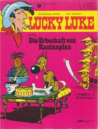 Cover Thumbnail for Lucky Luke (Egmont Ehapa, 1977 series) #53 - Die Erbschaft von Rantanplan