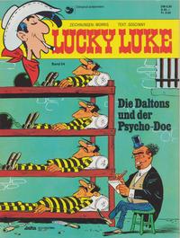 Cover Thumbnail for Lucky Luke (Egmont Ehapa, 1977 series) #54 - Die Daltons und der Psycho-Doc