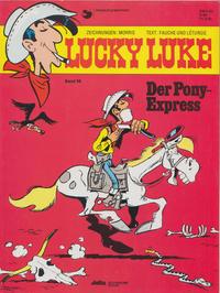 Cover Thumbnail for Lucky Luke (Egmont Ehapa, 1977 series) #56 - Der Pony-Express