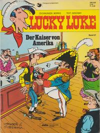 Cover Thumbnail for Lucky Luke (Egmont Ehapa, 1977 series) #57 - Der Kaiser von Amerika