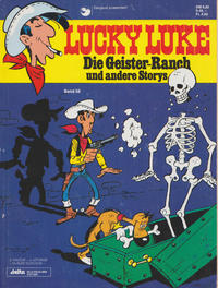 Cover for Lucky Luke (Egmont Ehapa, 1977 series) #58 - Die Geister-Ranch und andere Storys