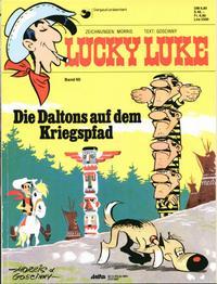 Cover Thumbnail for Lucky Luke (Egmont Ehapa, 1977 series) #60 - Die Daltons auf dem Kriegspfad