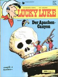 Cover Thumbnail for Lucky Luke (Egmont Ehapa, 1977 series) #61 - Der Apachen-Canyon