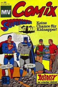 Cover Thumbnail for MV Comix (Egmont Ehapa, 1968 series) #22/1969