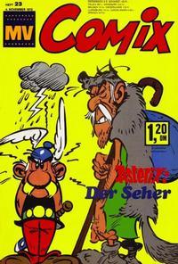 Cover Thumbnail for MV Comix (Egmont Ehapa, 1968 series) #23/1972