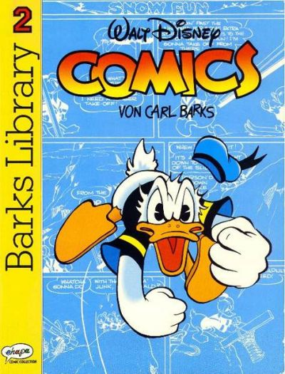 Cover for Barks Library (Egmont Ehapa, 1992 series) #2