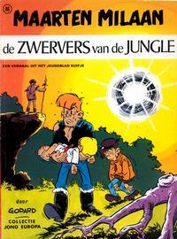 Cover Thumbnail for Collectie Jong Europa (Le Lombard, 1960 series) #86 - Maarten Milaan: De zwervers van de jungle